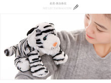 small cute plush tiger toy stuffed lovely white tiger doll gift about 25cm 140
