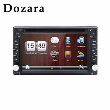 2 DIN Car Multimedia Player cassette player cd SD RDS GPS Navi For car usb Touch Screen car dvd player 2DIN(China)