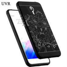 UVR For Meizu M3 Note Case TPU Silicon Soft Cover Phone Case For Meilan Note3 Note3 Cell phone cases Protective back cover(China)