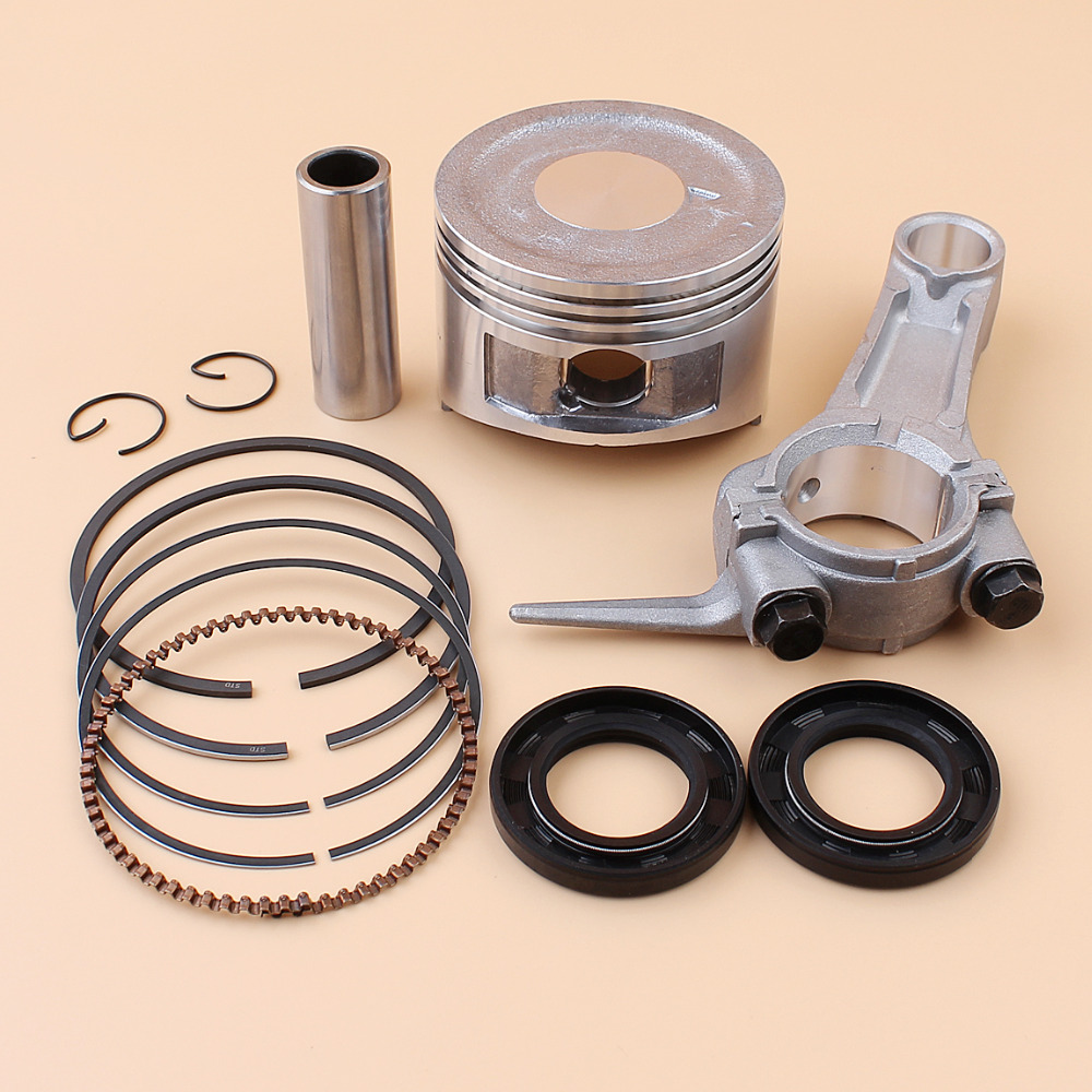 15PCS Set de Remplacement pour Honda GX160 GX200 168F 68mm Segments de Piston Joint dhuile Joint Rebuild Kit 13101-ZF7-010