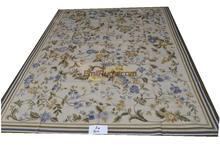 Ковры шерстяной ковер aubusson ковер ручной работы шерстяные ковры 274 см x 366 см 9 'x 12' K4gc156aubyg6(China)