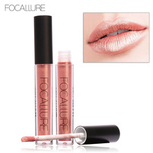 FOCALLURE Lip Makeup Long Lasting Lips Matte Lipstick Nude Cosmetic Moistourzing Lip Tint Tattoo Matte Liquid Lip Gloss Make Up