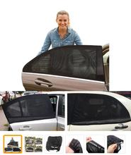 Hot Sale Car shade Curtain Window Gauze Shade Net Prevent Ultraviolet Prevent Mosquitoes Size 100*54CM