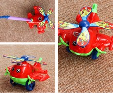 Hand push airplane trolley toy one pcs random color car or lobster pattern Diecasts Vehicles(China)