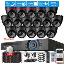 Full HD 2MP SONY IMX323 1080P in/outdoor Camera Security Surveillance CCTV System 16CH HDMI 1080P DVR NVR recorder USB WIFI DVR