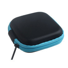 Hot sale & Wholesale! Zipper Storage Bag Carrying Case for Hard Keep Earphones SD Card Area BU NOJ12