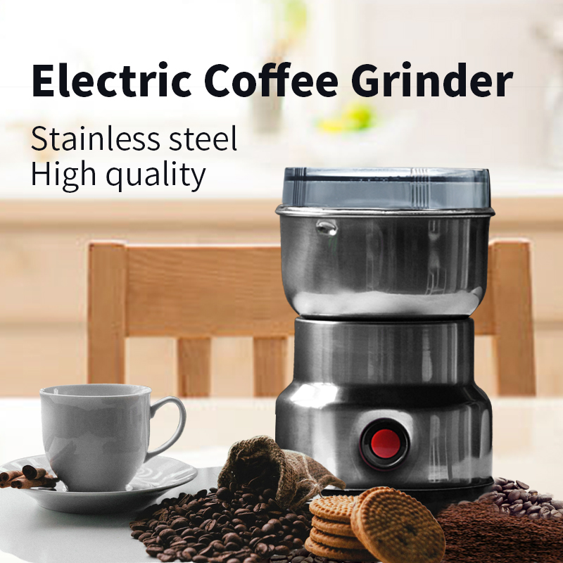 Multifuctional Bladed Coffee Grinder Electric  Bean blenderr Stainless Steel for Fine or Coarse Grind  Great for Nuts Spices <br><br>Aliexpress