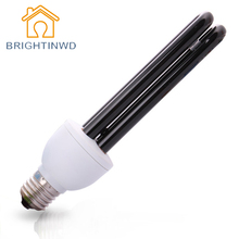 BRIGHTINWD 220V UV Light Bulb Ultraviolet Lamp Bulb E27 20W 365nm Energy Germicidal Lamp Trap Light Blacklight Insects Lighting