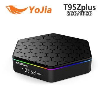[Genuine] T95Z Plus 2GB 16GB Amlogic S912 Octa Core Andorid 6.0 TV BOX 2.4G/5GHz Dual WiFi BT4.0 KODI Fully Load 4K H.265 Set To