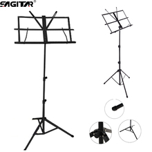 New Light Folding Portable music stand holder rack sheet tablature-universal Adjustable Metal guitar Instrument Part Accessories