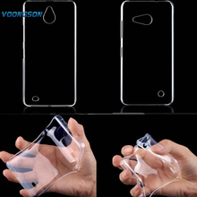 VOONGSON For Microsoft Nokia Lumia 550 650 850 N550 N650 N850 soft Gel TPU Silicone Crystal phone case Clear back cover