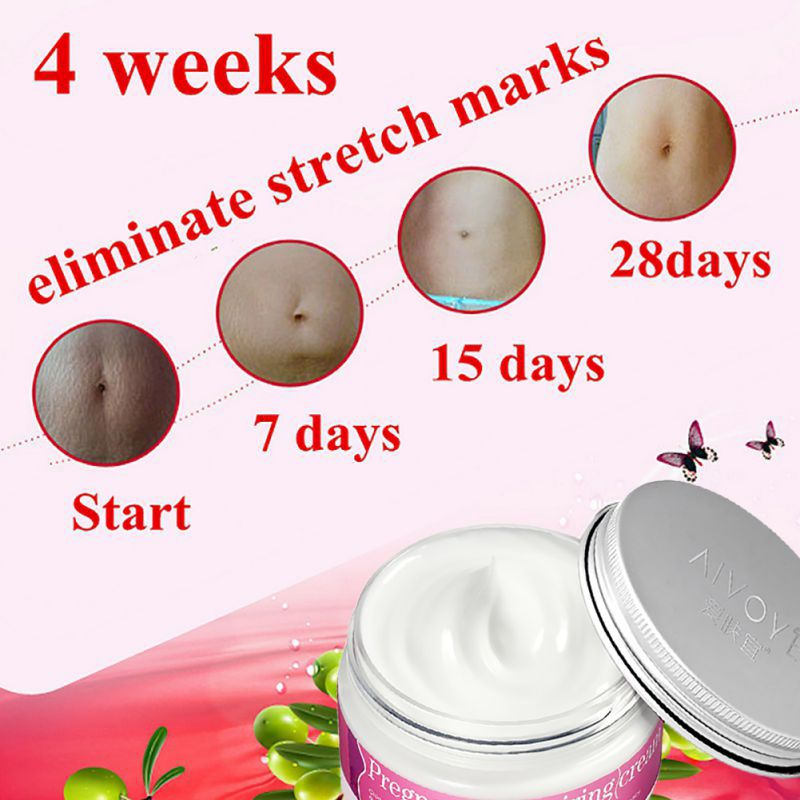 AFY Brand Pregnancy Repair Cream Stretch Mark Remover Maternity Relieve Fat Grain Skin Care Ship From US Free Shipping 7