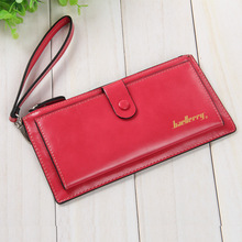 Ladies Wallets Leather Purses Long Wallet 2017 New Women Elegant Female Red Coin Card Bags With Hand Strap,ZX-N08-2