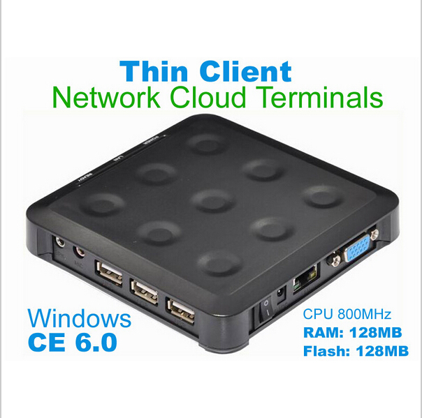 N380 (TS660) Cloud Computing Terminal WIN.CE 6.0 Black Windows And linux Server Support One Can up To More Users FREE SHIPPING<br>