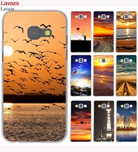 Lavaza Brilliant Sun Sea Wave River Hard Case for Galaxy A3 A5 J5 (2015/2016/2017) J3 J5 Prime J7(China)