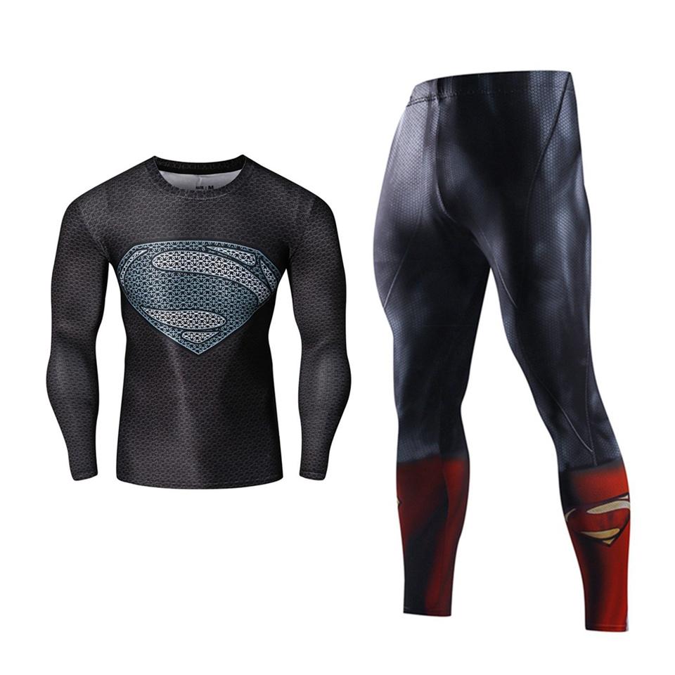 Superkangelaste teemalised spordikomplektid meestele