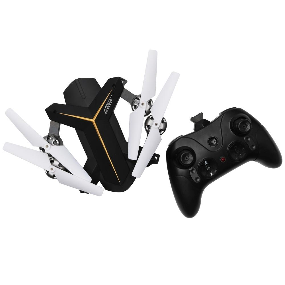 LeadingStar LeXiang 803 RC Quadcopter Wifi Real-time Transmission Barometric Fixed Altitude Unmanned Aerial Vehicle zk40