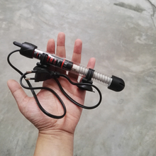 simple adjustment glass pipe heater 25/50/100w 20-32 centigrade for small aquarium turtle tank