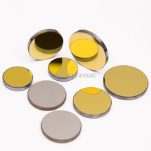 3 pieces per lot ! Diameter 25 mm Mo CO2 laser reflection len  with golden coating  for laser engraver cutting Machine
