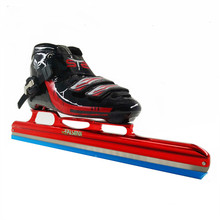 STS LONG Track ice skating shoes black white roller skates for Hockey shooes Ice shoes(China)