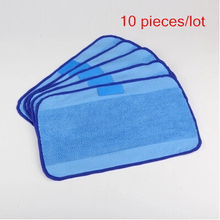 10 pcs/Lot New High-quality Microfiber Mopping Cloths for iRobot Braava 321 380 320 380t mint 5200C 5200 4200 4205 Robot(China)