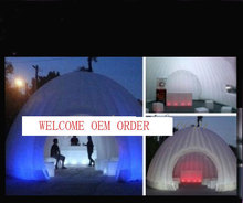 NEW Advertising Inflatable tent with LED colorful lights for outside good atmosphere with blower 1pc