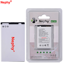 New Original Nephy Battery BL-4U For Nokia 6120C 6600S 6600i 6600is 8800A 8800S 8800C 8800G N500 X7 5730XM 6212C 500 Asha 300