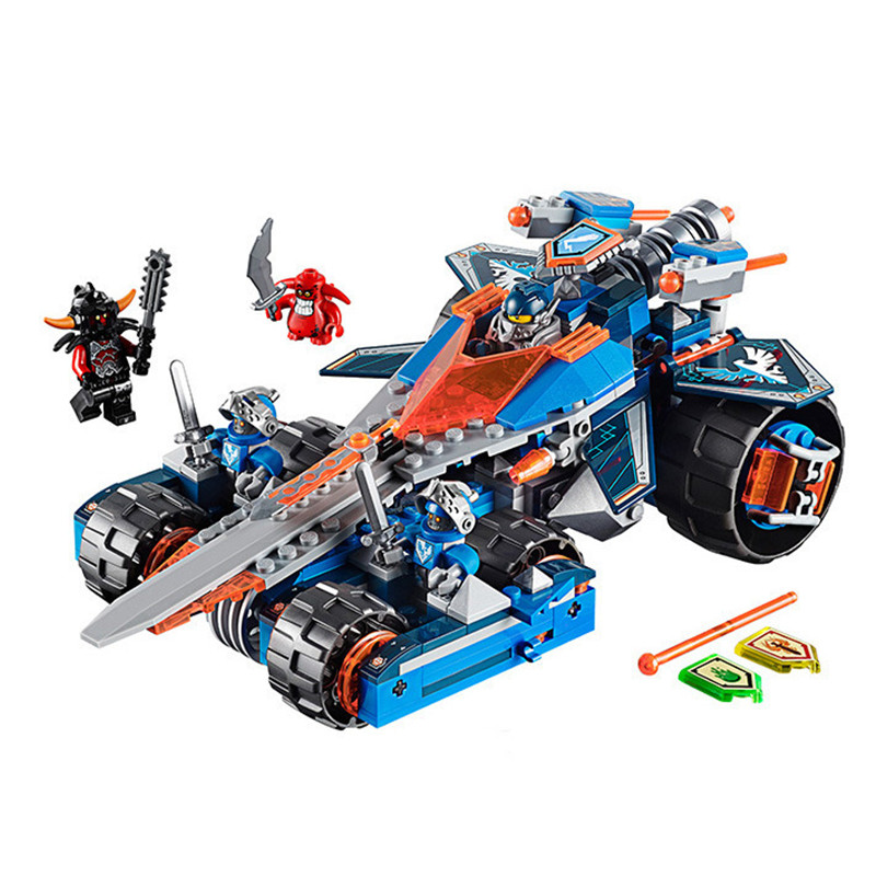 LEPIN 14012 BELA 10488 Nexus Knights Clays Rumble Blade Jestro Clay Buildable Toys For Children<br><br>Aliexpress