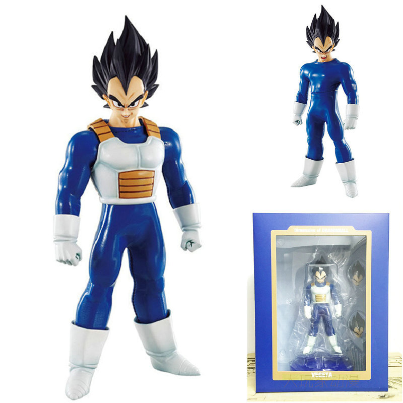 18cm Anime Dragon Ball Z Vegeta PVC Action Figures Juguetes MegaHouse DOD Dragonball Figurine Collectible Model Toys DBZ Figuras<br>