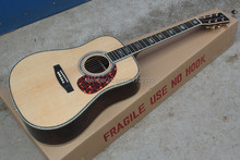 41-inch round wood color 45 D acoustic guitar ballad, Spruce,  fishman pickup EQ. Can be customized on request. In Stock