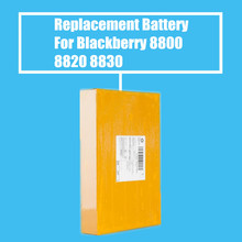 10Pcs/Pack 1380mah Replacement Battery For Blackberry 8800 8820 8830 8800C High Quality(China)