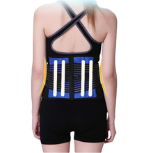 Aofeite Hot Selling Lumbar Belt Adjustable Neoprene Back Support Waist Belt Magnetic Waist Support Double Pull Lumbar support