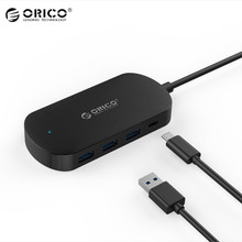 Original ORICO 4 Port USB 3.1 Type-C HUB Multi-Protection Safety Powerful HUB For Windows XP For Mac OS Portable