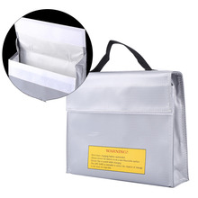 1Pc Explosion-proof Lipo Guard Charging Protection Battery Safe Bag Fire Resistant Pouch(China)
