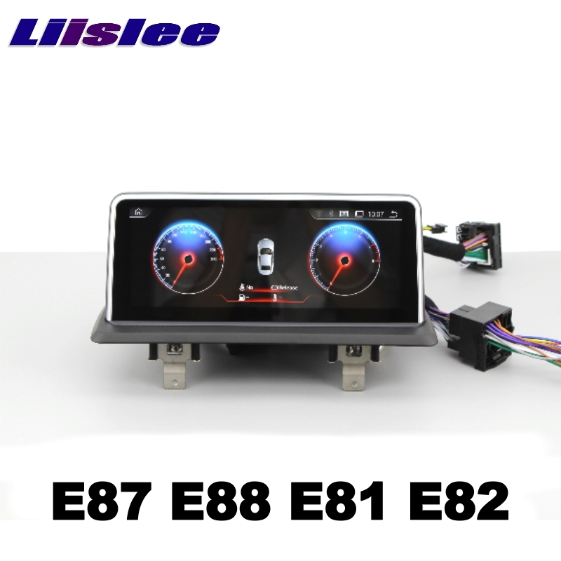 For BMW 1 E87 E88 E81 E82 2004~2013 LiisLee Car Multimedia GPS Audio Hi-Fi Radio Stereo Original Style For NBT Navigation NAVI 111