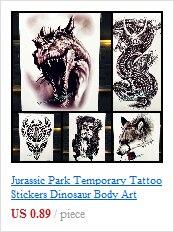New Beautiful Diamond Whale Dolphin Temporary Tattoo Waterproof 3D Arrow Fish Tatoo For Men Women Body Art Fake Tattoo Stickers