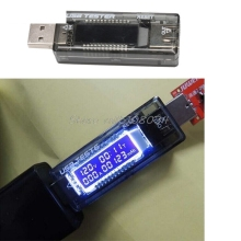 USB Charger Doctor Capacity time Current Voltage Detector Meter Battery Tester #S018Y# High Quality