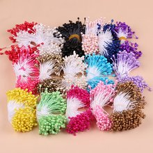 100 PCS 1mm Double Heads Artificial flower Stamen DIY wreath accessories/wedding decoration/Gift decoration Flower Bouquet