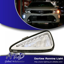 One-Stop Shopping Car Styling Camry V55 LED DRL 2015 New Camry Daytime Running Light LED Fog Lamp Automotive Accessories