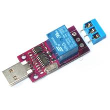CH340 USB Intelligent Control Switch Board Delay Relay Module MCU Microcontroller Programmers Module