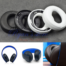 Original Replacement ear pads cushion pillow for SONY gold Wireless headset PS3 PS4 7.1 Virtual Surround Sound CECHYA-0083(China)
