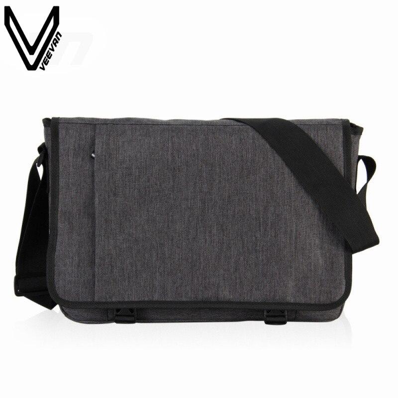 VEEVANV 2016 Hot Sale Men Messenger Bags Vintage Canvas Briedfcase For Business Fashion Laptop Case Office Shoulder Bag For Men<br>