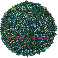 Hotfix rhinestone,1440pcs/bag,SS5(1.6mm) B Grade,Light blue AB glass Crystal Rhinestone Garment Accessories for dress, clothes,