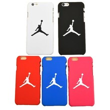 Brand Logo Jordan Sport Coque Scrub Phone Cover Hard Plastic Back Case For iPhone 7 Case For iphone 5s se 6 6s 7 plus(China)