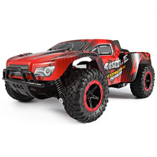 1:16 Red RC Car 2.4G Remote Control 4CH Hummer Off-Road Racing Cars SUV Nitro Motors Drive Radio Controlled Toy Car 25KM/H(China)
