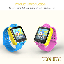 KOOLWIC Mobile Watch 3G GSM Network GPS Positioning Camera Function Smart Watches Children SOS Emergency Call Baby Monitor