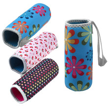 ZMHEGW Fashion New Warm Heat Insulation 500ML Water Bottle Bags Thermos Cup Bag 2018 New ArrivalNeoprene Material(China)