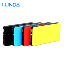 LUNDA Ultra-Slim 300A Peak 6000mAh Portable Car Jump Starter for Gas Engine up to 2.5L Auto Battery Booster Charger Power Bank