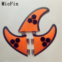 Micfin New high quality FCS fins G5 surf fins for surfboard(Three-set) pranchas de surf quilhas fcs surfing(China)