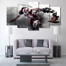 HD Printed Game God of War Painting on canvas room decoration print poster picture canvas Free shipping/ny-2225